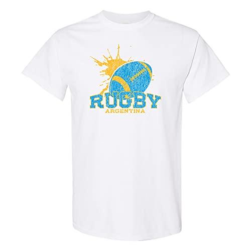 UGP Campus Apparel Nations Rugby - Camiseta de competição de futebol, Argentina preta, S