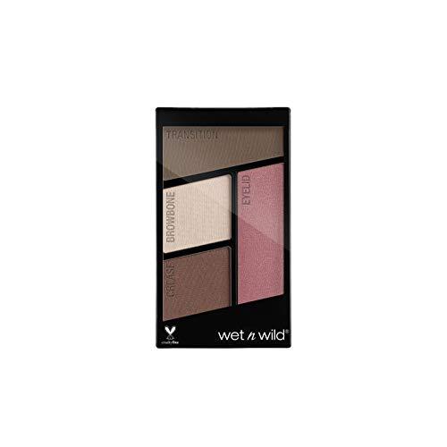 Wet n Wild Color Icon Eyeshadow Quads (Sweet as Candy) – Paleta de Sombras de ojos - 4 colores mate y brillo