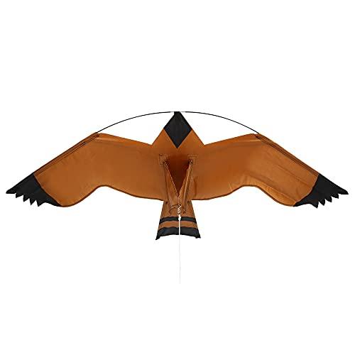TAKE FANS Repelente de aves-7m Poste telescópico Volar Cometa Repelente de Aves espantapájaros para protección de Cultivos de Campo de arroz