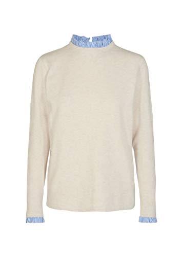 SOYACONCEPT Damen Pullover NIAKA 22 Offwhite XXL