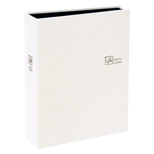 ナカバヤシ セラピーカラー 溶着式ポケットアルバム KG判2段160枚 ホワイト TCPK-KG-160-PW