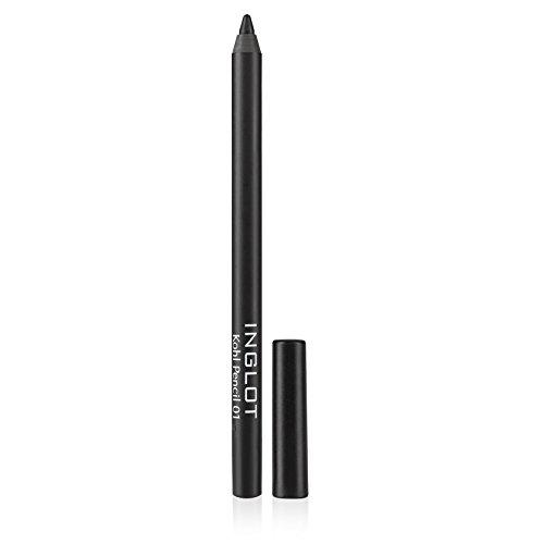Inglot _ Lápiz de ojos - Khol 01 - Negro - Resistente al agua - 38 gr