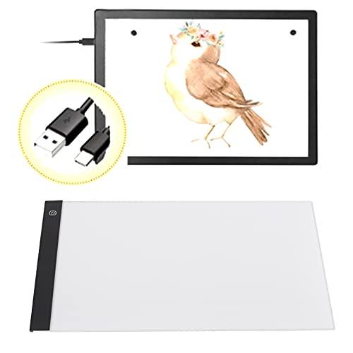 Tableta gráfica digital, mejora de las habilidades de dibujo Tableta de dibujo digital A3 para pintura casera para niños