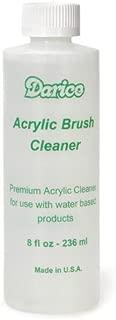 Darice Acrylic Brush Cleaner for Paint Brush Care, 8 fl oz