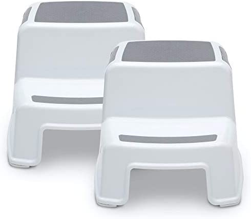 Delta Children Toddler Step Stool for Boys Girls 2 Pack Ideal for Potty Training Bathroom Kitchen product image