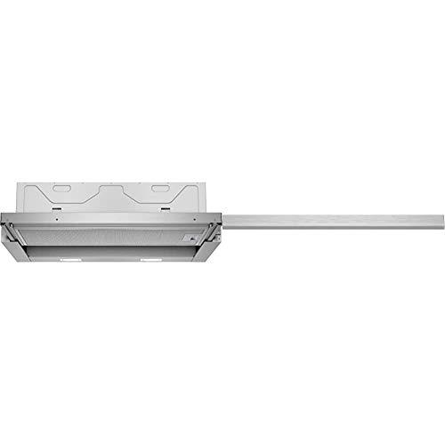 Siemens LI64LA530 iQ300 Flachschirmhaube / 59,8 cm/Lüfterleistung/Silbermetallic und Accessoire pour hotte intégrée LZ46550