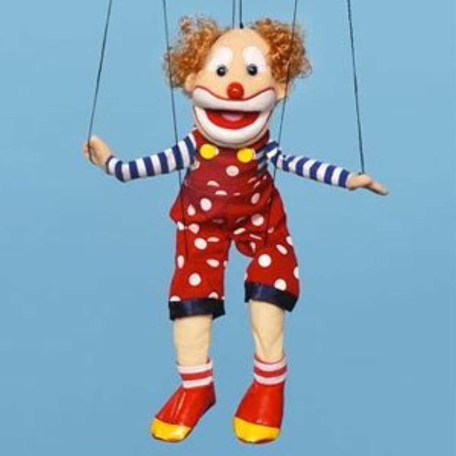 Sunny Puppets Bald Clown Marionette by Sunny Puppets