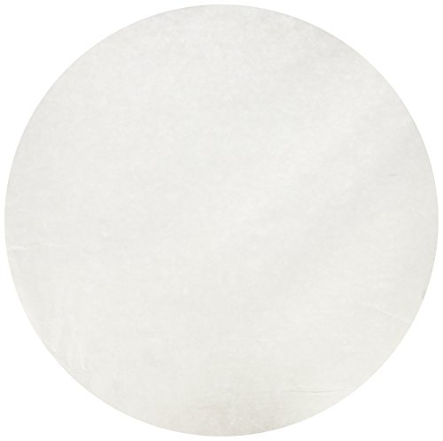 Roylco 96203 Pre-Cut Circle Color Diffusing Paper, 2.3' Height, 9.7' Width, 18' Length, White (Pack of 100)