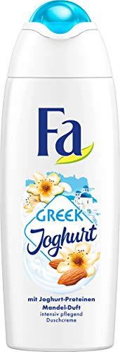 FA Duschcreme Greek Joghurt mit Joghurt-Proteinen und Mandel-Duft, 6er Pack (6 x 250 ml)