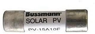 Cooper Bussmann ACK-40 Fuse Solar Ferrule PV-15A10F, 15 Amp, 1000 VDC, 10 mm x 38 mm