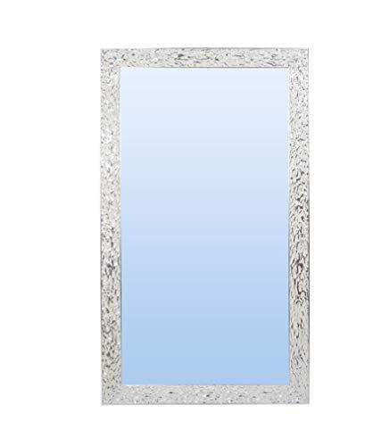 Espejo de Pared con Marco de Madera (Varios tamaños y Colores) | Serie 2827-112 (100 x 100 cm)