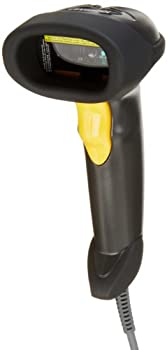 Symbol LS2208 General Purpose Handheld 1D Bi-Directional Laser Barcode Scanner Black
