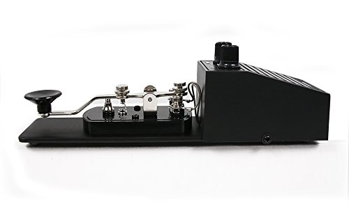 MFJ Enterprises Original MFJ-557 Deluxe Morse Code Practice Oscillator Straight Key w/Volume Control