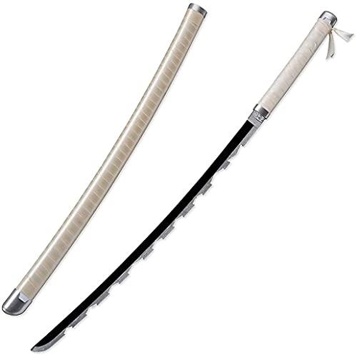 Accesorios De Espada De Arma Japonesa Katana para Demon Slayer Hashibira Inosuke, Katana Ninja De Madera, Coleccionables, Juguetes Para Adolescentes Y NiñOs, Regalos De CumpleañOs