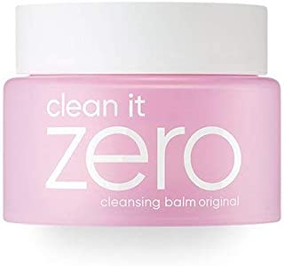BANILA CO NEW Clean It Zero Cleansing Balm Original – Instant Makeup Remover, Facial Wash, 100ml, Double Cleanse, Hydrates, All Skin Types, Hypoallergenic,