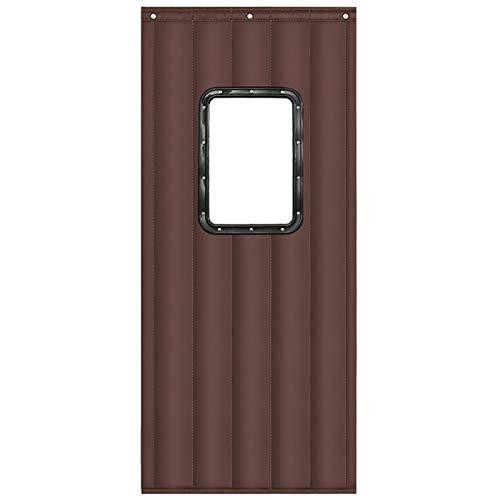 YONGQUAN Cortina Térmica Puerta, Resistente Al Desgarro Cortina De Puerta, Anti Tormenta De Nieve para Tiendas Habitacion Climatizada Personalizable (Size : 1x2.2m)