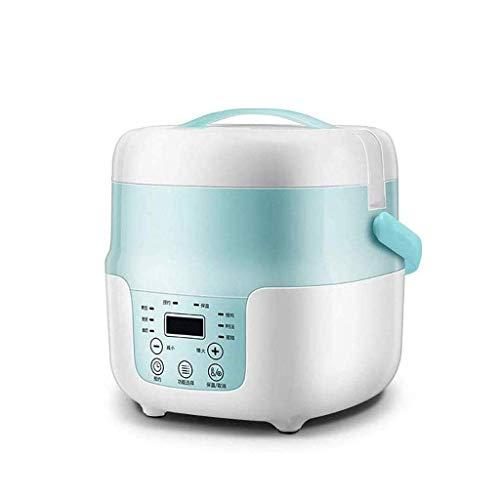 DZX Olla arrocera multifunción, Olla eléctrica Liven con Olla Interior Saludable de Acero, cocinar Fideos y hervir Huevos con Agua, Olla arrocera de cocción Lenta