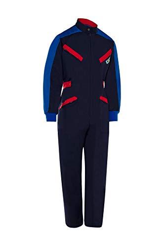 Mono De Trabajo Tricolor Manga Larga con Bolsillos Profesional de Hombre Azul Marino Talla 46. Mecanico Soldador. Ref: 125
