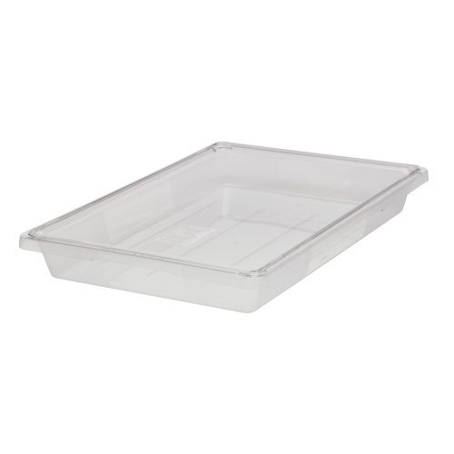 Rubbermaid Commercial Food Storage Container, 5 Gallon, FG330600CLR