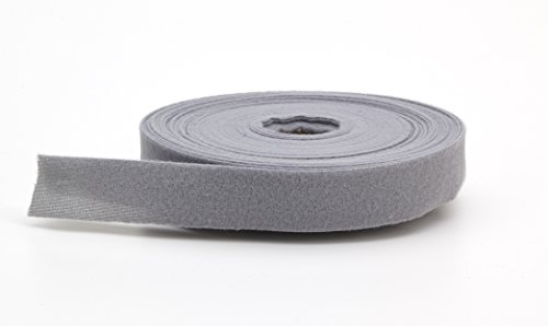 PEARL Quilt Binding, Brushed, 2' Fold in Half, Finish 1', 25 yd, Gray