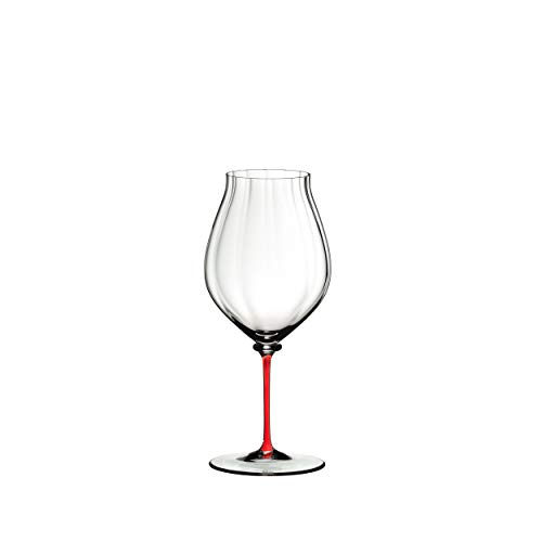 RIEDEL Fatto A Mano Performance Pinot Noir 4884/67r - Copa de Vino (Cristal, 830 ml),...