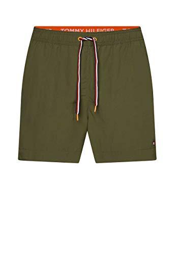 Tommy Hilfiger Herren Medium Drawstring Badehose, Schwarz (Army Green), (Herstellergröße:)