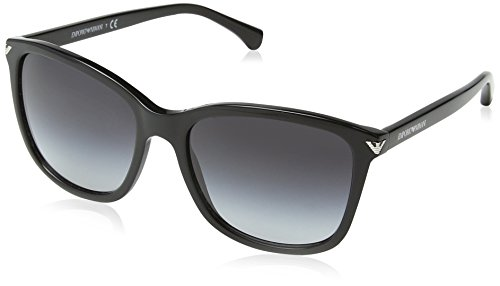 Emporio Armani 50178G Gafas de sol, Black, 56 para Mujer