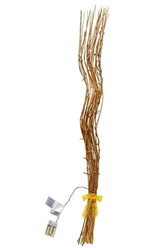 Melinera LED Leuchtzweige Gold Deko Zweige Beleuchtung Lichterkette