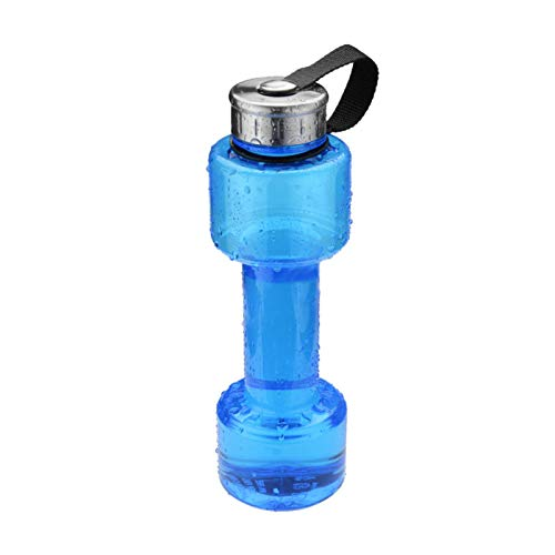 SinceY Sport-Wasserflaschen Portable 750mL Innovative kleine Hantel-Flasche zum Laufen/Outdoor/Wandern/Camping/Gym