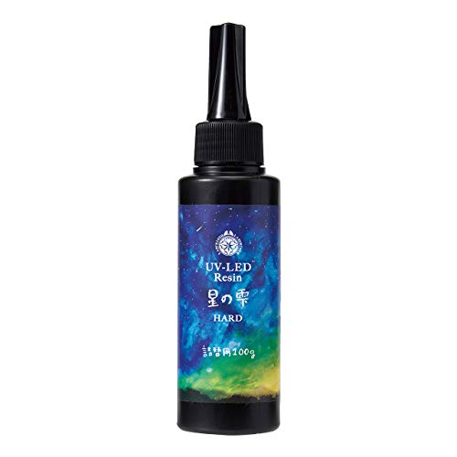 パジコ レジン液 大容量 UV-LEDレジン 星の雫 ハードタイプ 100g 透明 日本製 403240