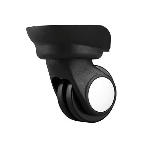 SHYPT 1 par Reparación Duradera PVC Reemplazo Resistente al Desgaste Viaje Flexible 360 Rotación Mute Rueda de Equipaje Accesorios Deslizamiento
