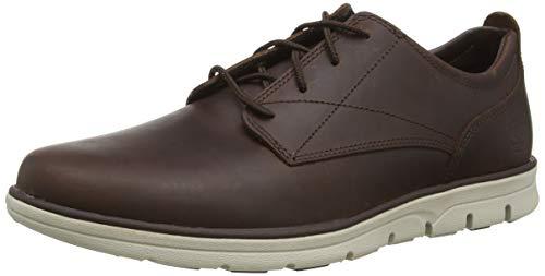 Timberland Herren Bradstreet Plain Toe Sensorflex Oxford Schuhe, Braun Dark Brown Full Grain, 46 EU