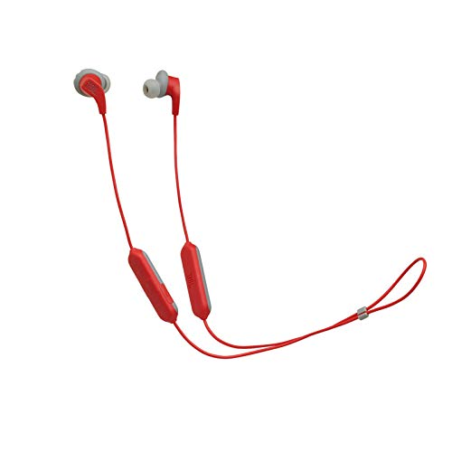 Fone de ouvido in ear bluetooth esportivo JBLENDURRUNBTRED Vermelho