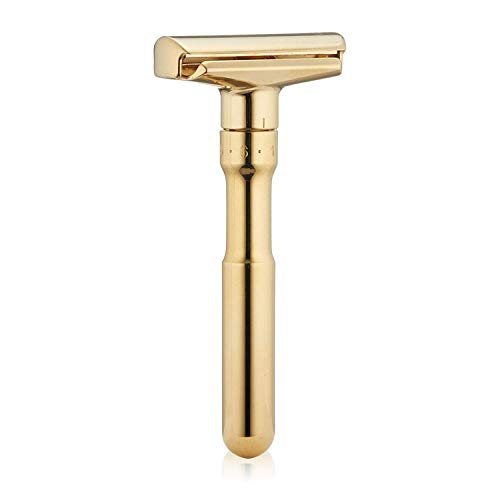Merkur Adjustable Futur Safety Razor Gold Plated 702