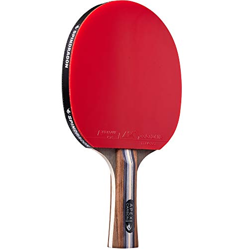 Spindragon Apex Carbon Ping Pong Paddle  Professional Table Tennis Racket with Tournament Rubber to Improve Your Game
