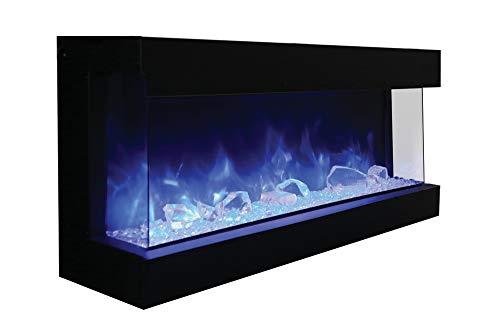 Amantii TRU-View-XL 3 Sided Electric Fireplace Deep (60)