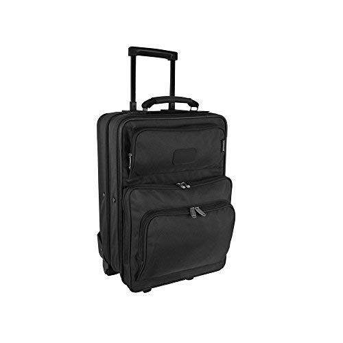 """Price comparison product image Preferred Nation 6919B Carry On Compact Computer Overnighter,  18.5"""" L,  Black"""