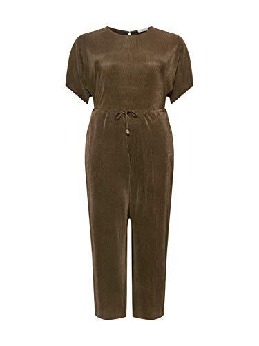 Guido Maria Kretschmer Curvy Collection Damen Jumpsuit Arabella Khaki 46 (XXXL)