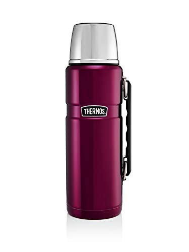 Thermos 81092 Flask, Stainless Steel, Raspberry, 1.2L