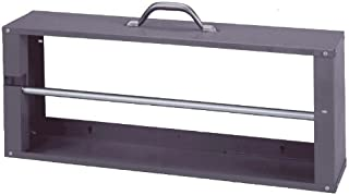 Durham 383-95 Gray Cold-Rolled Steel Wire Spool Rack with Single Rod, 26-1/8