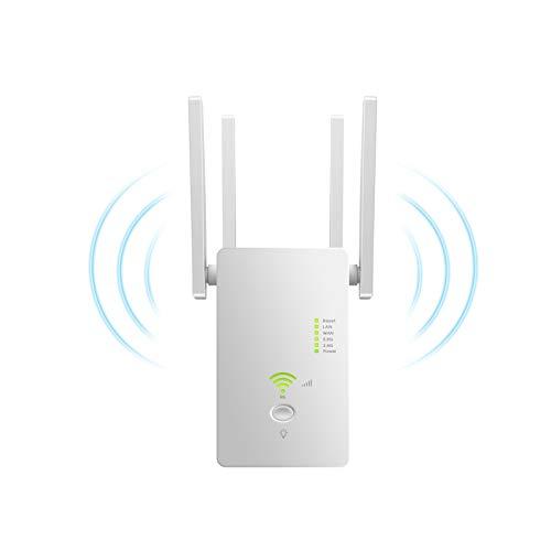Amplificador De Rango Extendido WiFi, Amplificador De Señal De Enrutador Inalámbrico De 2.4GHZ Y 5.8 GHz, El Modo Ap Puede Proporcionar Una Red Estable para El Trabajo En Línea