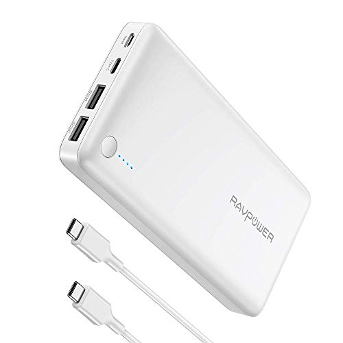 RAVPower Baterías Externas 16750mAh (Dual USB,5V 2.1A & 2.4A iSmart,Power...