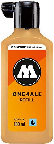 Molotow ONE4ALL Refill Acryl (Nachfülltinte für Permanentmarker, 1 Stück à 180 ml) Farbe 009 sahara beige hell