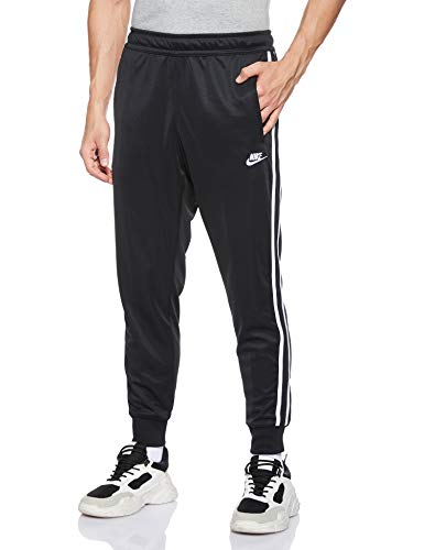 Nike Herren M NSW HE JGGR Tribute Pants, Black/White, XL