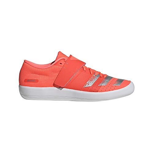 adidas Adizero Shotput Shoes - SS20-12.5 - Signal Coral Silver Met FTWR White