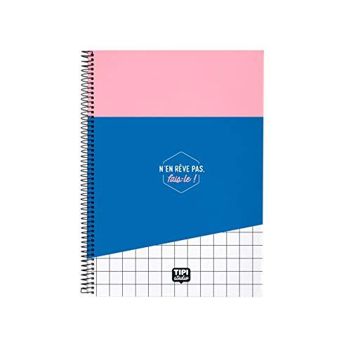 Cuaderno de espiral A5 – No soña.