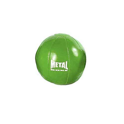 METAL BOXE MB323 Médecine Ball Mixte Adulte, Vert, 2 kg
