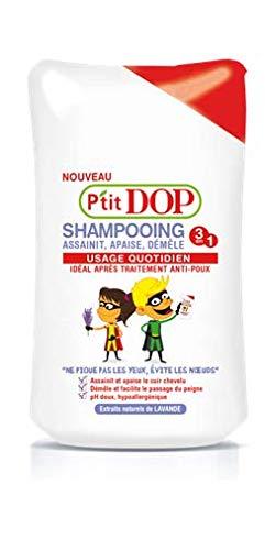 P' tit DOP–Shampoo dopo trattamento anti pidocchi–250ml–Set di 3