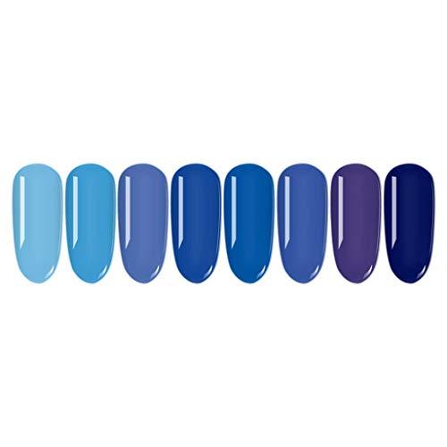 Ongle Nail Art Kit Vernis à Ongles Colle Gel de Couleur Semi-Permanent Sullmar Glue Color Set Manucure Kits