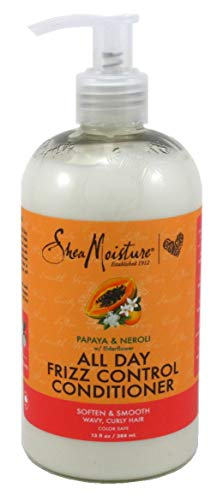 Shea Moisture, All Day Frizz Control Conditioner Papaya & Neroli, 13 Ounce